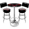 Hunt Skull Gameroom Combo 2 Stools w/ Back & Table