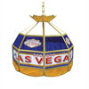 Las Vegas Stained Glass Tiffany Lamp - 16 inch diameter