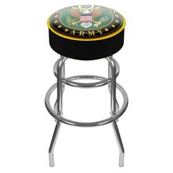 U.S. Army Symbol Padded Swivel Bar Stool