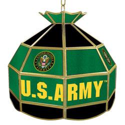 U.S. Army Symbol 16 inch Tiffany Style Lamp