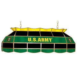 U.S. Army Symbol 40 inch Tiffany Style Lamp