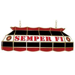 United States Marine Corps 40 inch Tiffany Style Lamp
