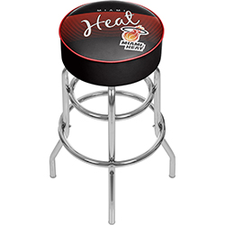 Miami Heat NBA Hardwood Classics Bar Stool