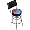 San Diego Clippers Hardwood Classics Bar Stool w/Back