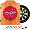 NHL Washington Capitals Dart Cabinet includes Darts and Board