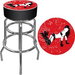 Shadow Babes - B Series - High Grade Padded Bar Stool