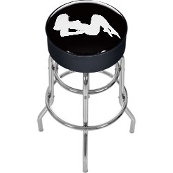 Shadow Babes - A Series - High Grade Padded Bar Stool