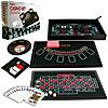 4 in 1 Casino Game Table - Roulette, Craps, Poker, BlackJack