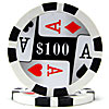 4 Aces Poker Chips