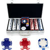 300 Suited Holdem Poker Chip Set with Aluminum Case