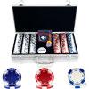300 Suited Holdem Poker Chip Set with Aluminum Case