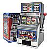 Lucky Slot Machine Bank