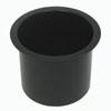 Jumbo Aluminum Black Poker Table Cup Holder