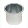 Jumbo Aluminum SILVER Poker Table Cup Holder