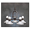 Kichler Hand Painted 5/5Light Chandelier-Tannery Bronze