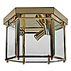 Kichler Crystal Palace Ceiling Light- Polished Brass