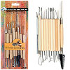 Stalwart 11 Pc Pottery and Sculpting Tool Set