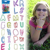 Groooovy Bandzzzz Shaped Rubber Bands - Alphabet - 24