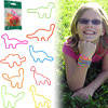 Groooovy Bandzzzz Shaped Rubber Bands -Dinosaurs - 24