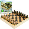 Zoo Animals Wood Chess Set