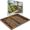 Zoo Birds Wood Backgammon Set - $34.100