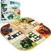 Zoo Animals Wood Board Game Ludo - $29.100